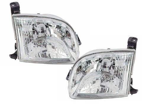 Toyota Tundra Regular Cab/Access Cab Models Headlights Headlamps Driver/Passe... by Headlights Depot