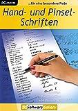 Hand- und Pinsel-Schriften Bild