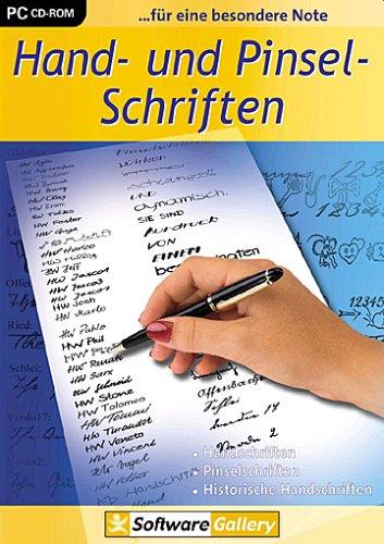 Hand- und Pinsel-Schriften