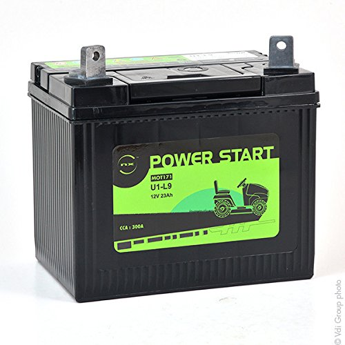 NX - Rasenmäher Batterie U1-9 / U1-L9 / NH1222L 12V 23Ah - U1-9 ; U1-L9 ; U19 ;