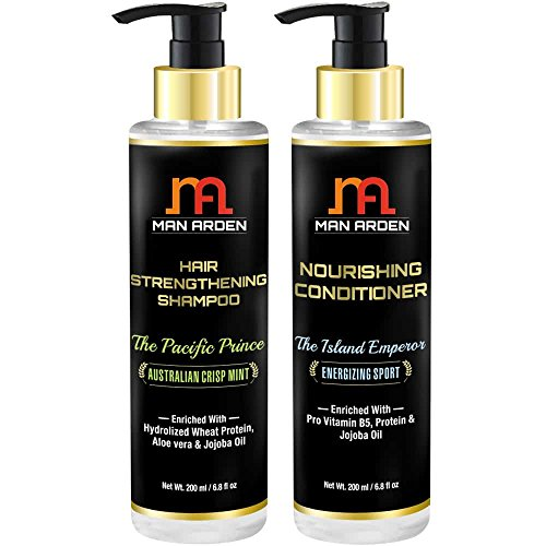 Man Arden Hair Strengthening Shampoo (The Pacific Prince)200 ml + Nourishing Conditioner (The Island Emperor)200 ml