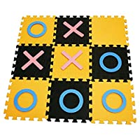 ValuePound MUCHO Garden Giant EVA Noughts & Crosses Family Game EVA Foam Floor Indoor Outdoor Mat