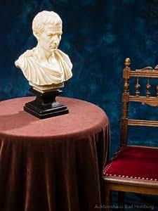 skulptur b ste julius caesar rom italien 47cm sculpture antik stil k che haushalt. Black Bedroom Furniture Sets. Home Design Ideas