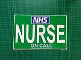 Infermiera della chiamata Dashcard Dash di medico NHS Medic paramedico First Responder comunità