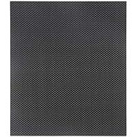 230 * 170 * 0.5 milímetros de la fibra de carbono llena hoja del panel 3K armadura llana con la superficie del lustre de ambos lados para la placa del avión de RC