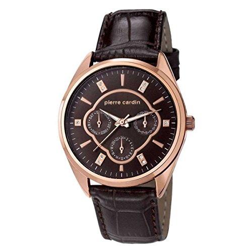 Pierre Cardin Women's Watch Bayan Leather Band Watch PC107182 °F04
