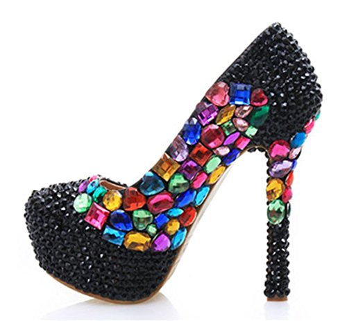 GZD-Women-Shoes-Glitter-Gorgeous-Wedding-Bridal-Evening-Party-Crystal-Color-Diamond-High-Heels