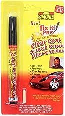 7Clouds fix it! PRO UV Sunlight Activated Clear Coat Scratch Repair Filler & Sealer - Car Scratch Remover pen
