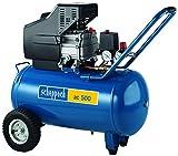 Scheppach Kompressor ac 500 inklusive 10 m Gewebeschlauch, 230 V, 1,7 kW, 4906115901-900