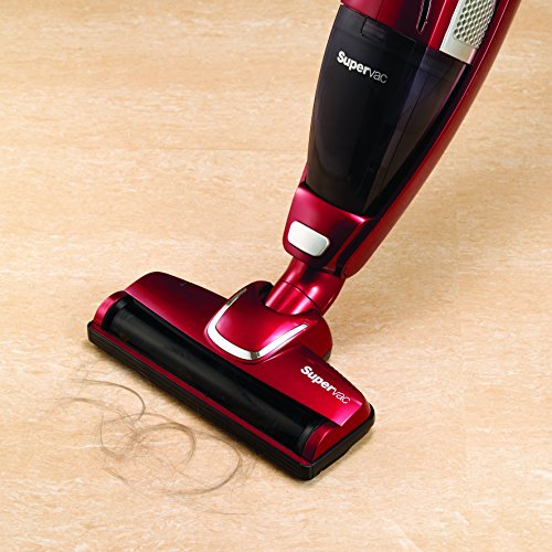 51XFGEYh0HL. SS500  - Morphy Richards 732005 Cordless Vacuum Cleaner 35 Mins Runtime, Plastic, 100 W, Red