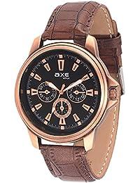 Axe Style STYLISH Analog Black Dial Watch For Men/Boy- X1152KL01
