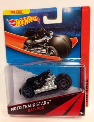 Hot Wheels Moto Track Stars - Bat-Pod by Hot Wheels