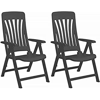 Kettler Nizza Folding Chair Plastic Frame Matte Surface