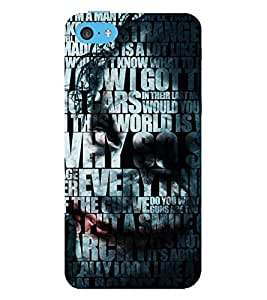 Vizagbeats Joker Typography Back Case Cover for Apple iPhone 5::Apple iPhone 5S