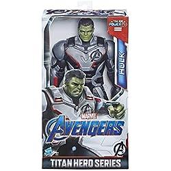 Marvel Avengers - Figurine Marvel Avengers Endgame Titan Deluxe - Hulk - 30 cm - Jouet Avengers
