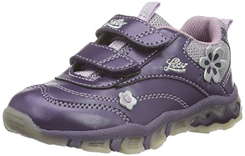Lico Girlie V, Baskets Basses Fille Violet (Lila/Silber)