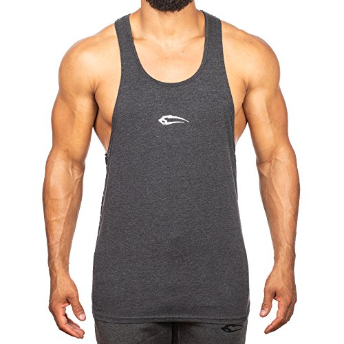 85d65067015c SMILODOX Stringer Herren  Frame    Kurzarm   Casual Top   Funktionsstringer für  Sport Fitness Gym   Training   Trainingsshirt - Lauftop