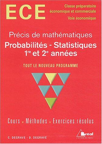 Probabilités - Statistiques : ECE, 1re ...