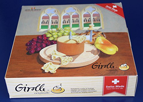 Girolle Original Swiss Made Käsehobel mit Originalhaube