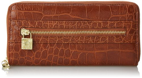 Anne Klein Alligator Alley Zip autour de portefeuille,taille,selle