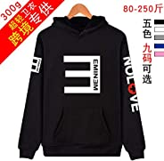36 stytles hot singer Coat Tops EMINEM NOLOVE loose thin coat hoody printed hoodies men/women Sweater Streetwe