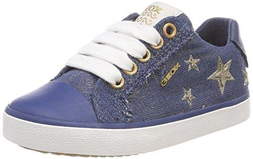 Geox Mädchen J Kilwi  Low-top D Sneaker, Blau (Avio), 38 EU