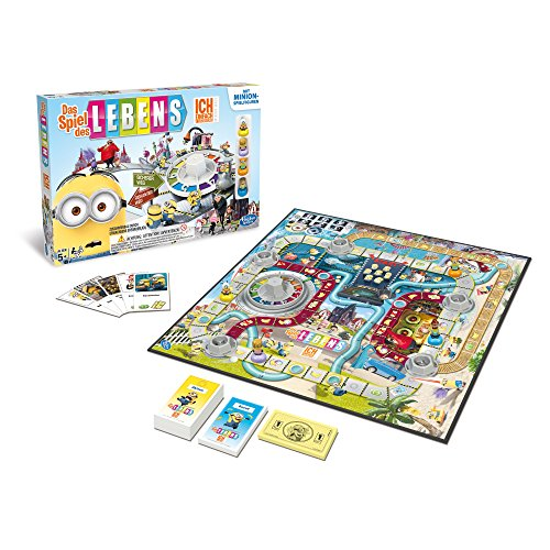 Preisvergleich Produktbild Hasbro Spiele A9016100 - Das Spiel des Lebens Ich - Einfach unverbesserlich, Familienspiel