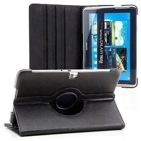 Saxonia Samsung Galaxy Note 10.1 (GT-N8000) Hülle Case Tablet Tasche Schutzhülle (360°) Cover Premium Qualität