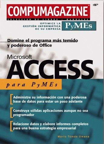 Ms access manual para pymes (Compumagazine Pymes)