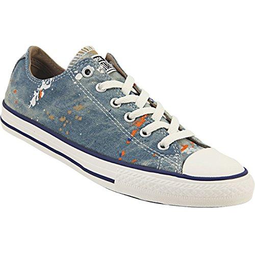 Converse Kids Chuck Taylor All Star Ox Canvas Trainers ROADTRIP BLUE