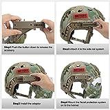 OneTigris Taktische Helm mit Maske und Schutzbrille für Softair(MC) - 7