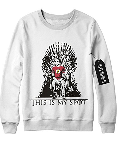 Sweatshirt Big Bang Theory GOT Mashup