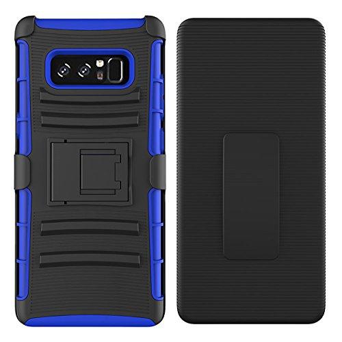 Samsung Galaxy Note 8 2017 Handyhülle, Lifeepro [Drehbarer Clip für Gürtel] & [Inside Staffelei]...