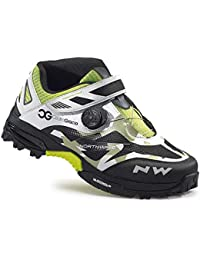 Northwave Enduro Mid - Zapatillas - blanco/negro 2017