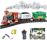 #9: Shop & Shoppee Radio Controlled Train & Track Set with Real Smoke, Sound & Light (Multicolor)