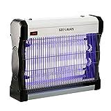 Seekavan Lampe Anti Moustique Electrique, Lampe UV LED Anti Insectes, Tue Mouche