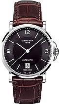 Certina Herren-Armbanduhr XL Analog Automatik Leder C017.407.16.057.00