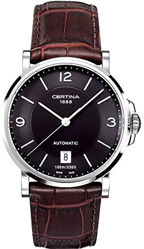 Certina-Mens-Automatic-Watch-Analogue-XL-Leather-c0174071605700