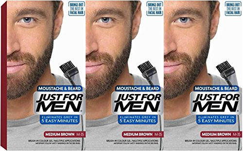 3-x-just-for-men-moustache-and-beard-facial-hair-gel-colour-m35-medium-brown