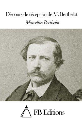 Discours de réception de M. Berthelot