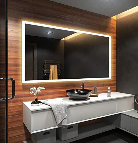 Badezimmerspiegel nach Maß mit LED Beleuchtung - 3