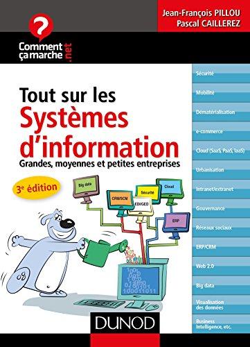 Tout sur les systèmes d'information - 3e éd. - Grandes, moyennes et petites entreprises par Jean-François Pillou