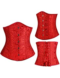 61323e5f281 HITSAN Incorporation Woman Corset Underbust S-6XL Plus Size Waist Corsets  Top Body Shaper Slimming