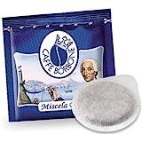 cialde carta 44 mm caffè Borbone miscela blu pz. 50 100 200 300 400 500 (100)