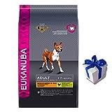 15 kg Eukanuba Adult Medium Breed Huhn Hundefutter für mittlere Rassen+ Geschenk