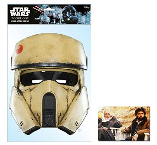 Shorertrooper Rogue One: A Stars Wars Single Karte Partei Gesichtsmasken (Maske) Enthält 6X4 (15X10Cm) starfoto
