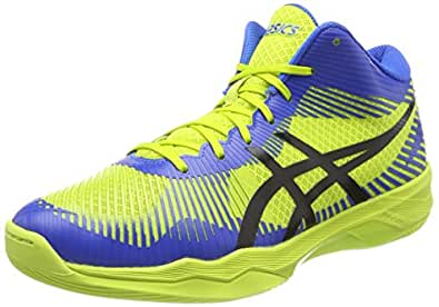 Asics Gel-Beyond 5 MT, Chaussures de Volleyball Homme, Multicolore (Energy Green/White/Electric Blue), 48 EU