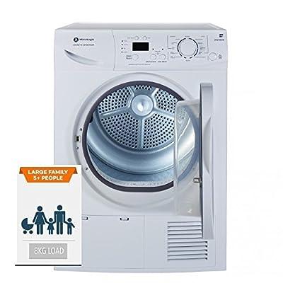 White Knight B96M8WR 8KG Sensor Condenser Tumble Dryer B Rated