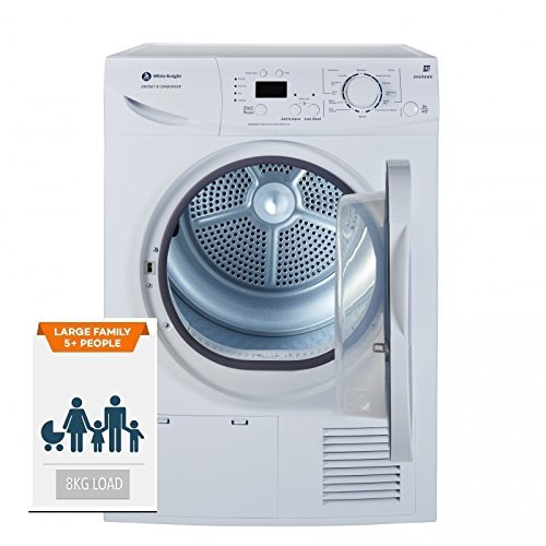 White Knight B96M8WR 8KG Sensor Condenser Tumble Dryer B Rated