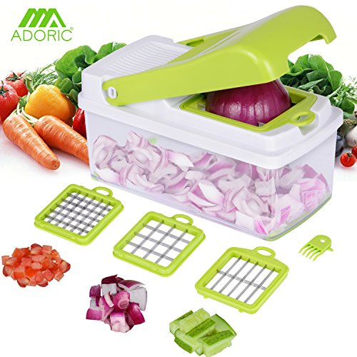 Vegetable Chopper, Adoric Food S...